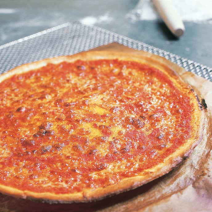 Crisp Thin-Crust Pizza