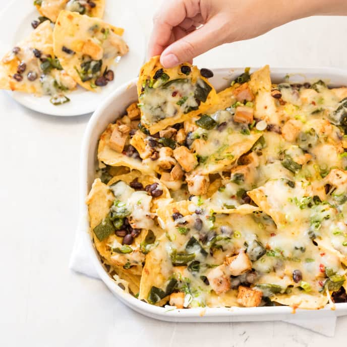 Spicy Turkey Nachos
