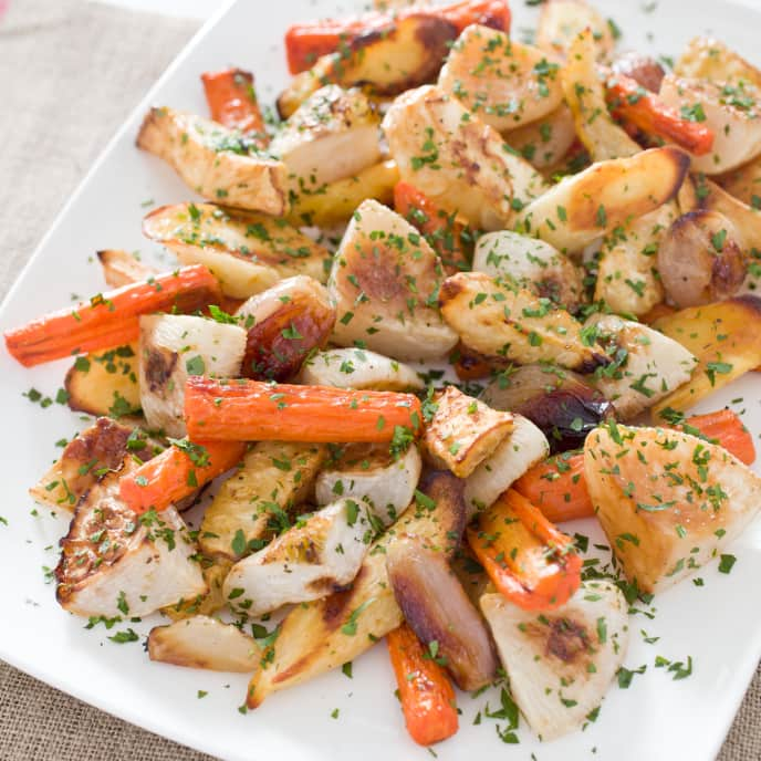 Perfect Roasted Root Vegetables