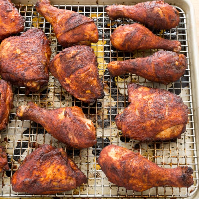 Spice-Rubbed Picnic Chicken
