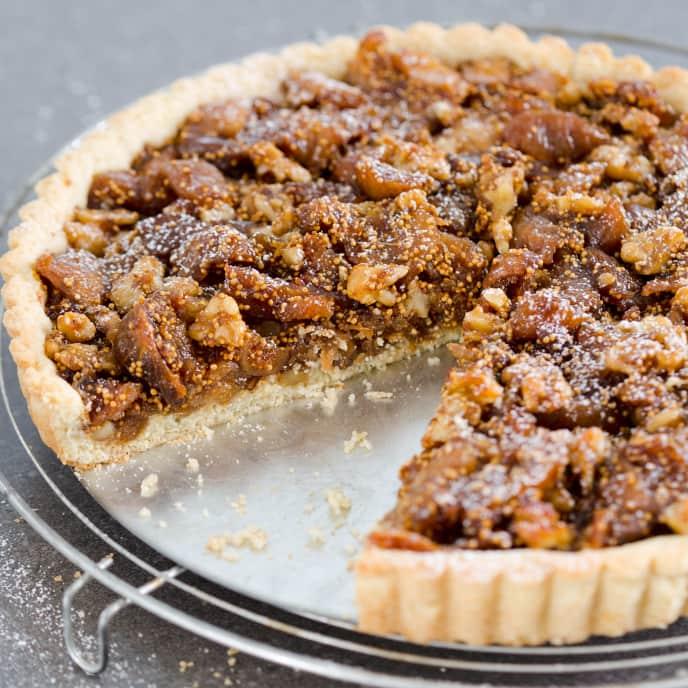 Fig-Walnut Tart
