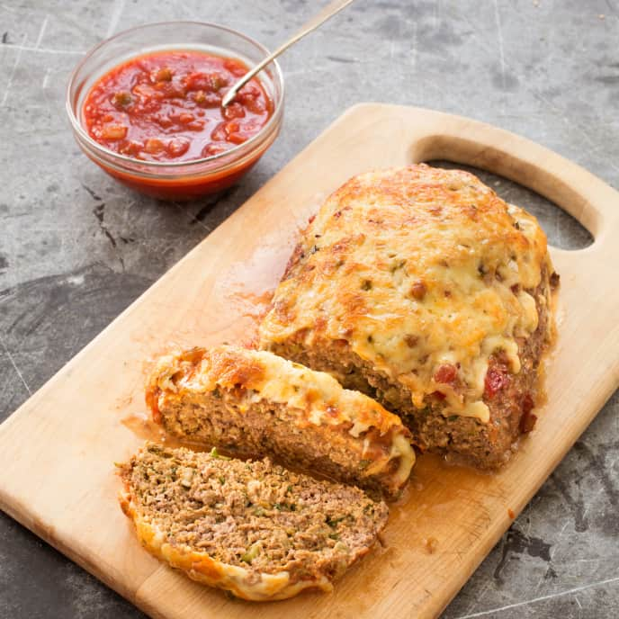 Cheesy Southwestern Meatloaf