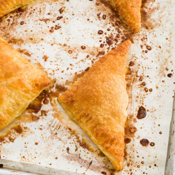 Easy Apple Turnover for Two or Four