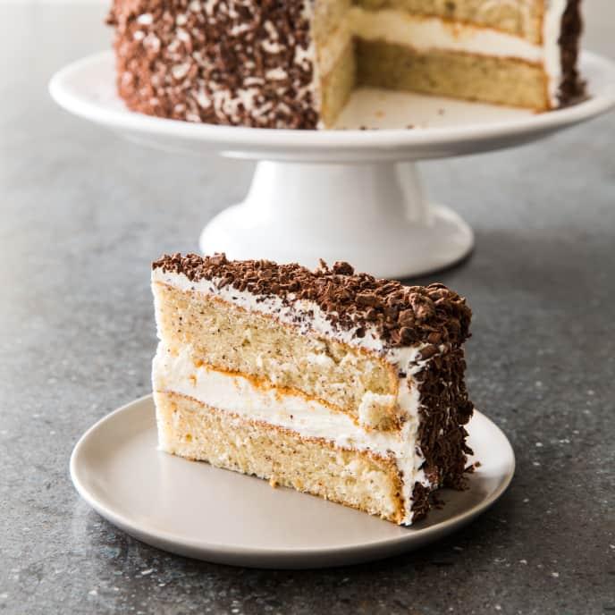 Swiss Hazelnut Cake