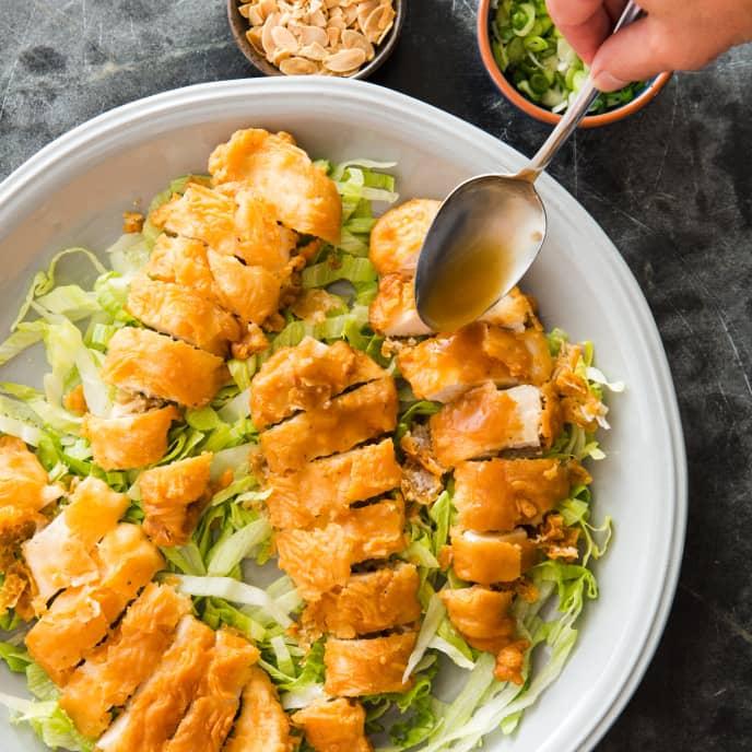 Almond Boneless Chicken