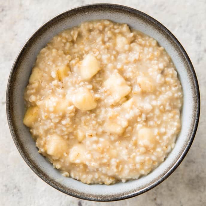Banana and Brown Sugar Oatmeal
