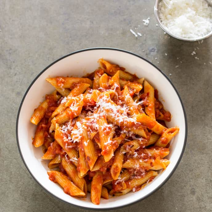 Penne Arrabbiata for Two
