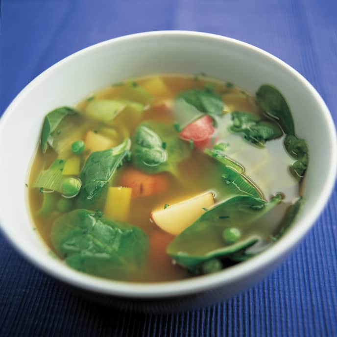 Four-Vegetable Soup