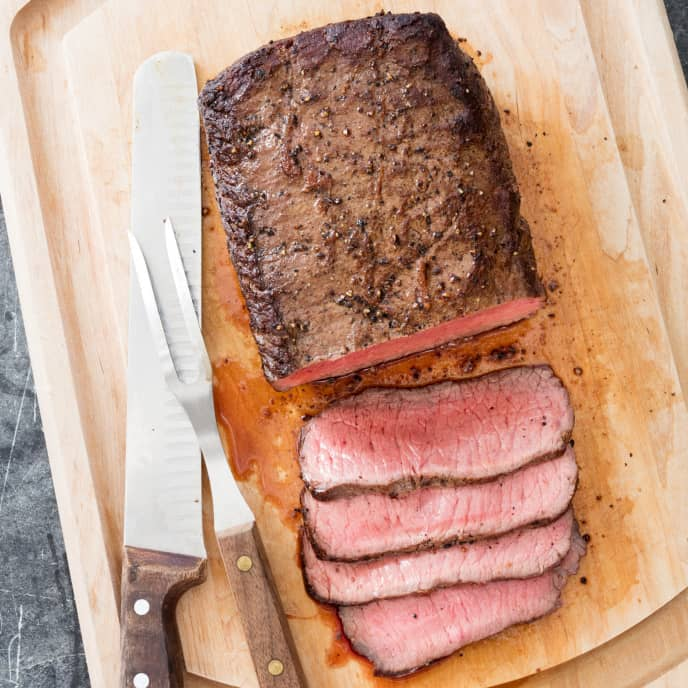 Top Loin Roast with Garlic-Herb Butter