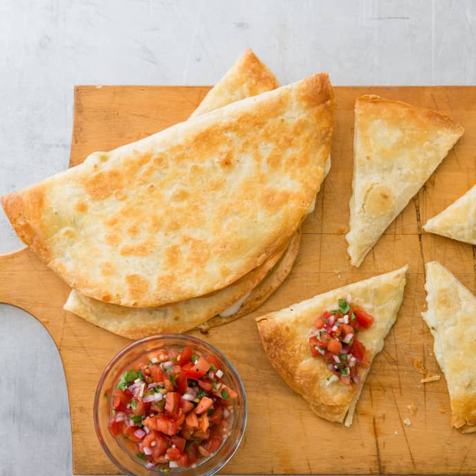 Quesadillas for a Crowd