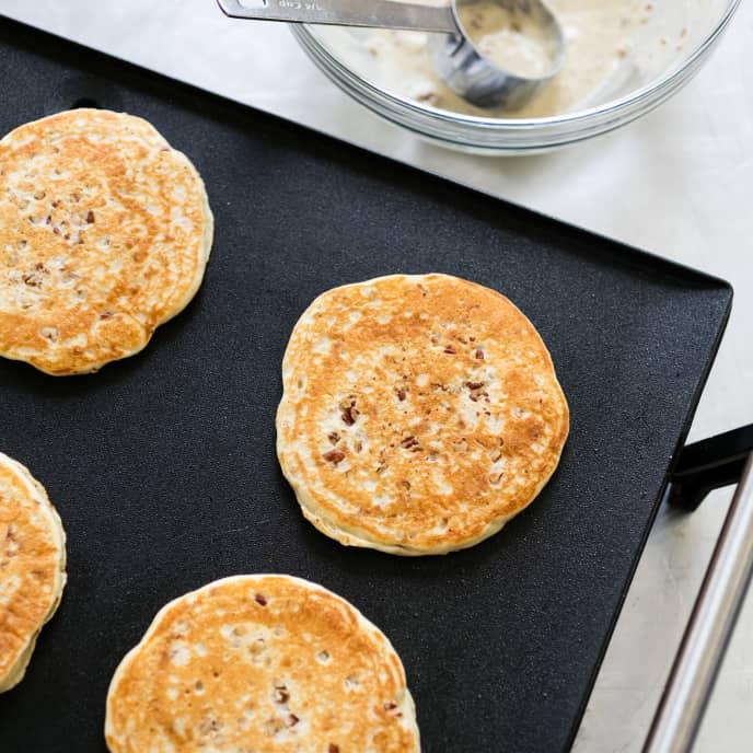 Toasted Pecan Pancakes