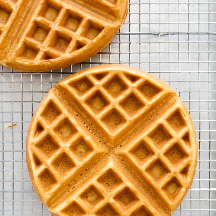 Classic Almost-As-Good-As-Buttermilk Waffles