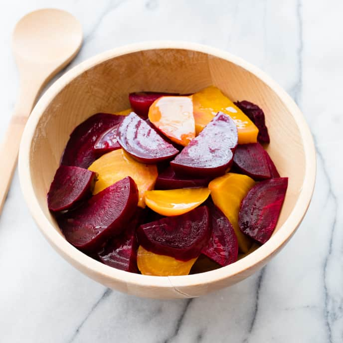 Steamed Beets