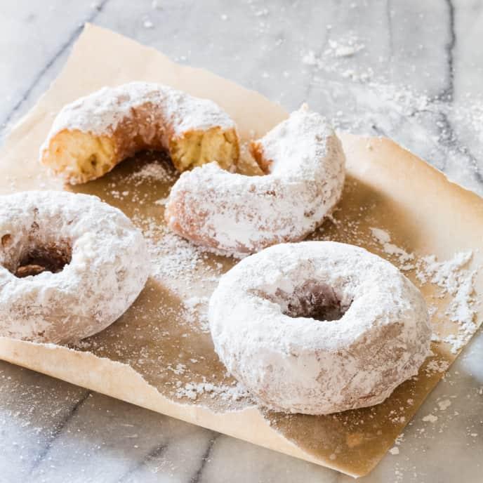 Sugared Buttermilk Doughnuts