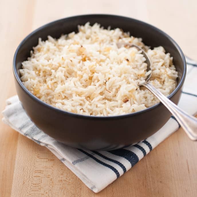 Make-Ahead Rice Pilaf