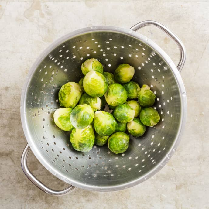 Basic Braised Brussels Sprouts