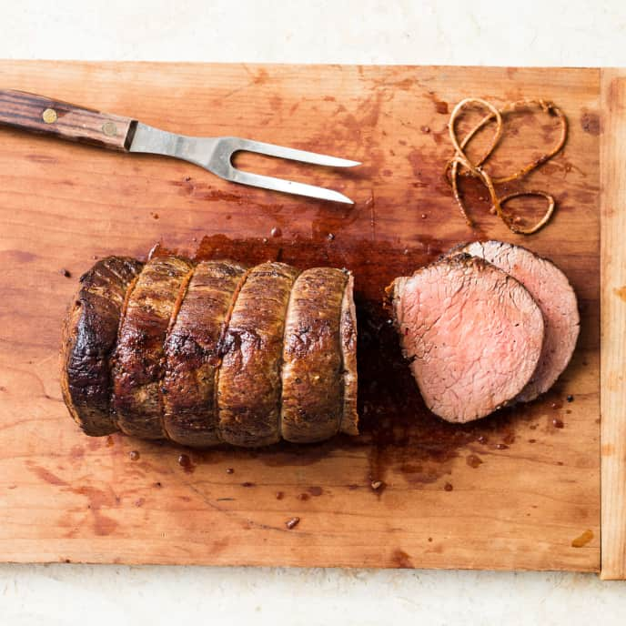 Simple Roast Beef Tenderloin