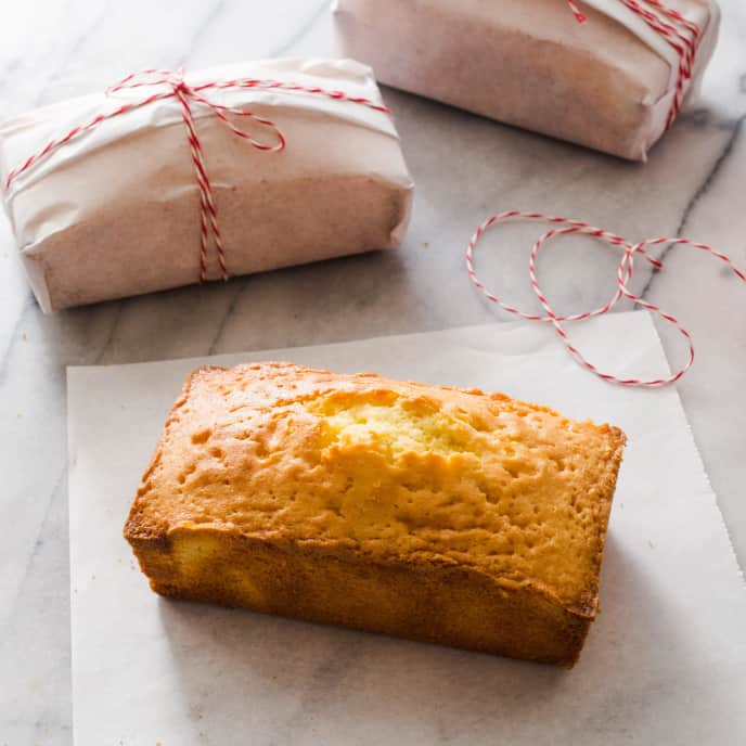 Rose Water Pound Cake