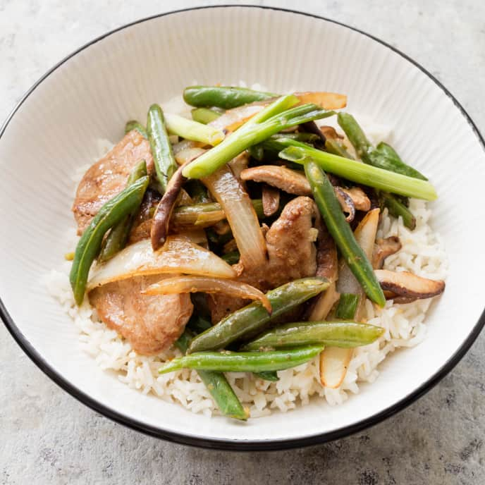 Stir Fry with Hot-and-Sour Sauce