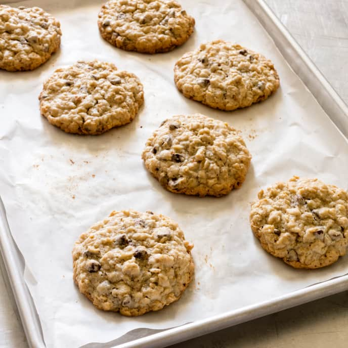 Chocolate Chip Oatmeal Cookies Cook S Illustrated