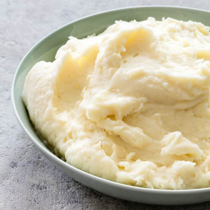 Mashed Potatoes with Parmesan and Lemon