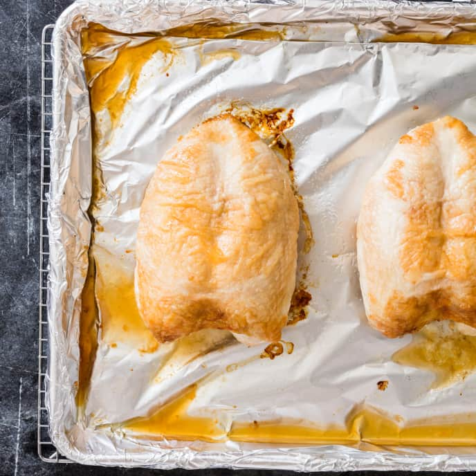 Simple Roast Chicken Breasts