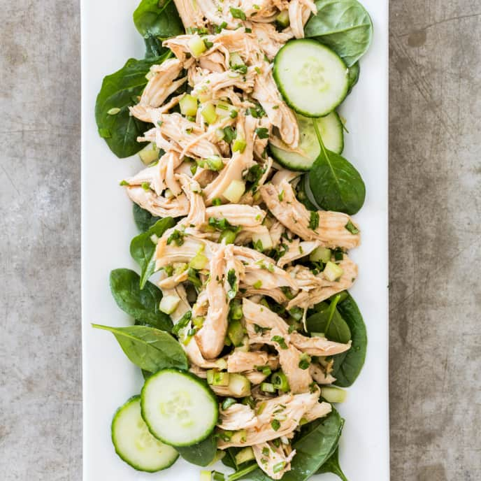 Chicken Salad with Hoisin Dressing
