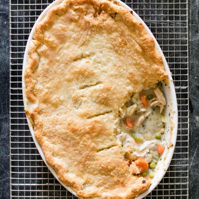 Simple Chicken Pot Pie