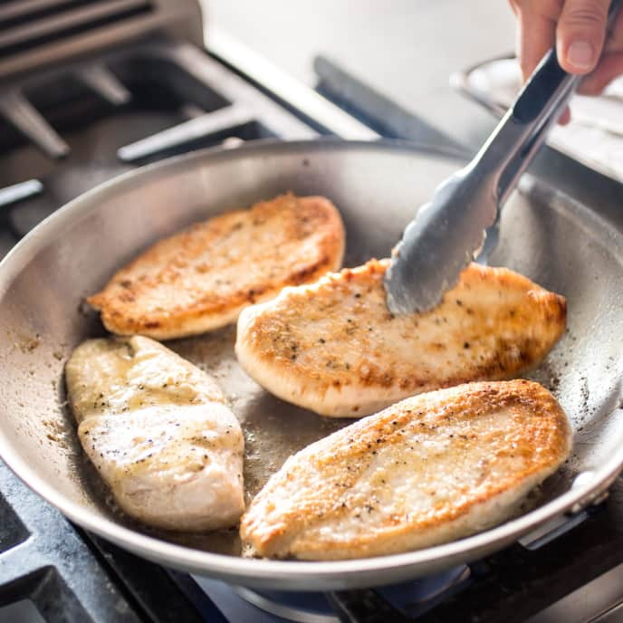 Pan-Seared Chicken Breasts