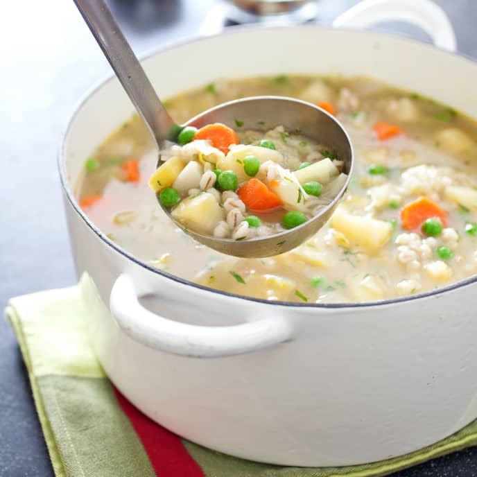 Farmhouse Vegetable and Barley Soup
