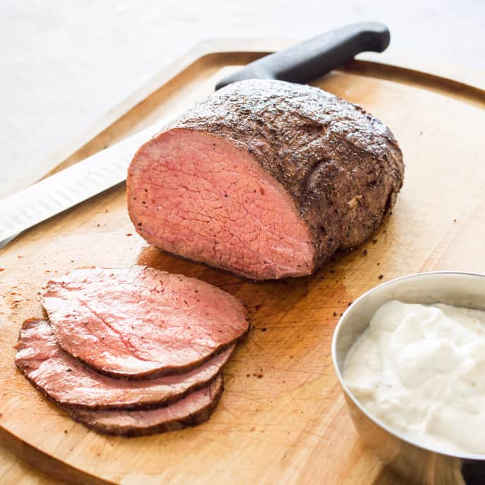 Slow-Roasted Beef