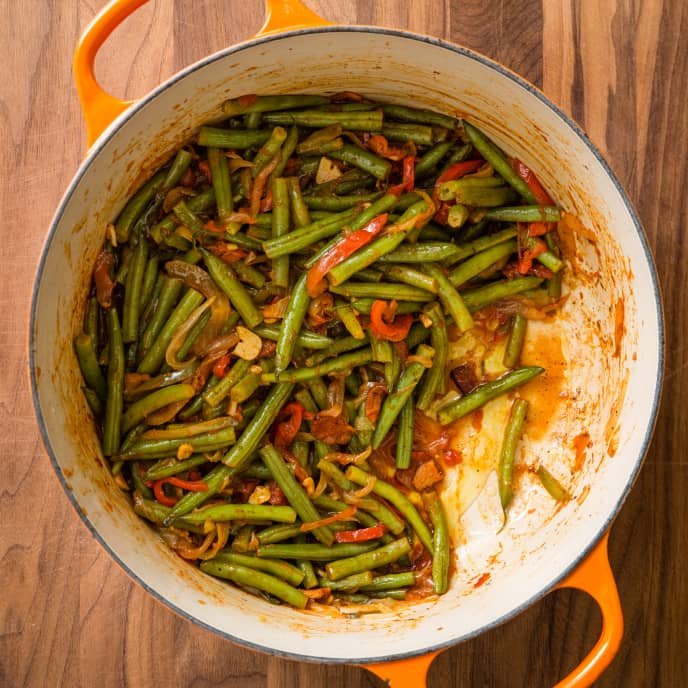 Basque-Style Green Beans
