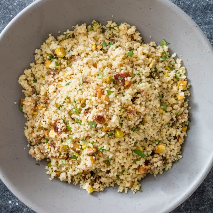 Couscous with Dates and Pistachios