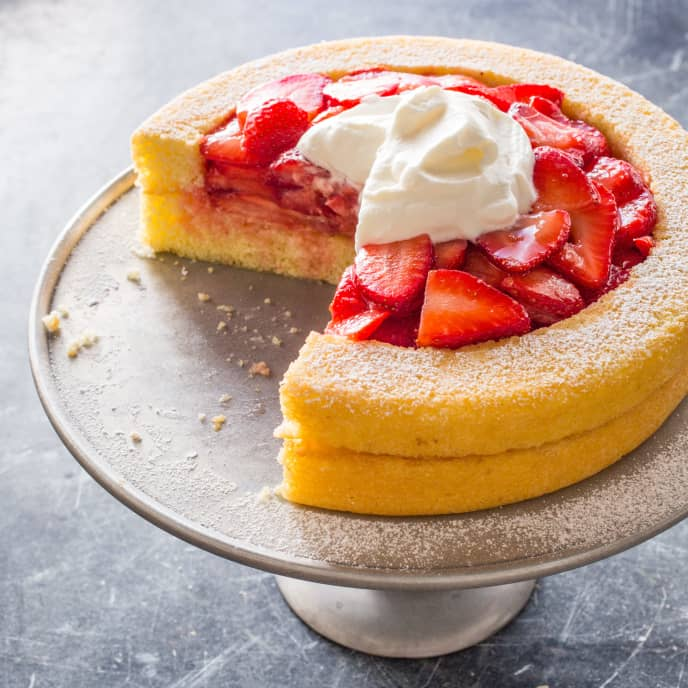 Refined Strawberry Shortcake