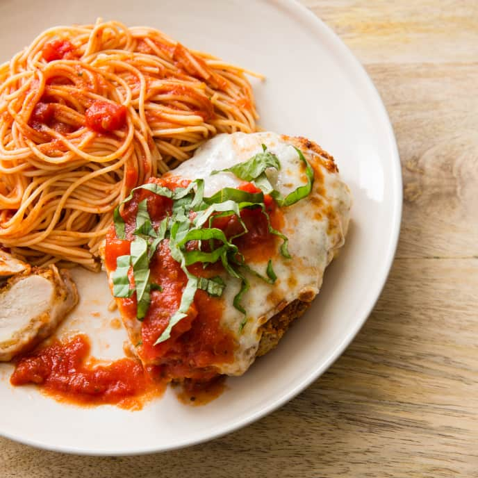 Chicken Parmesan for Two