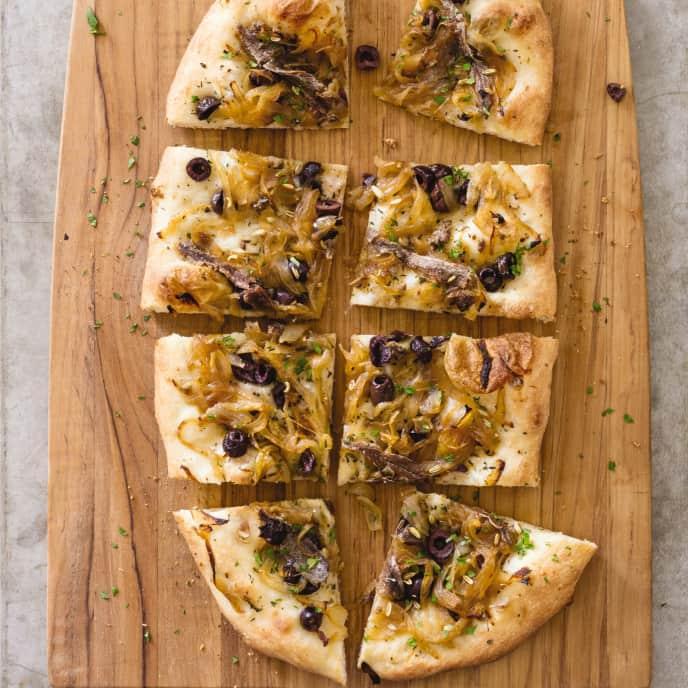 Pissaladiere—Provencal Pizza