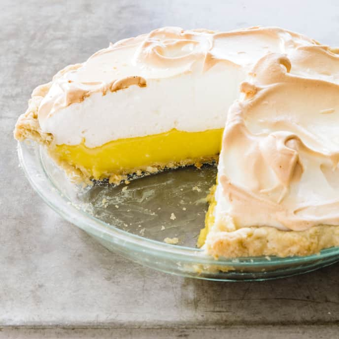 The Ultimate Lemon Meringue Pie