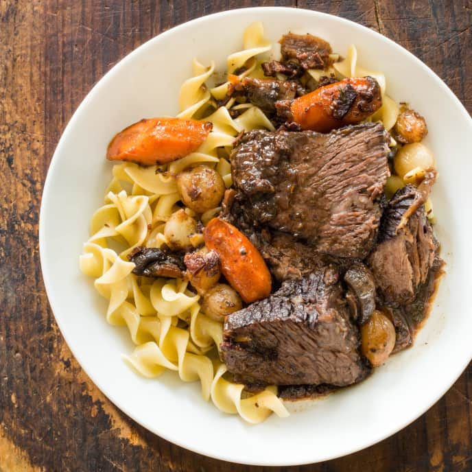 French-Style Pot Roast