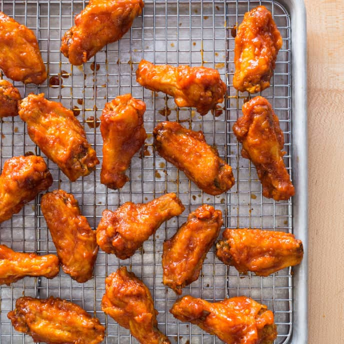 Dakgangjeong (Korean Fried Chicken Wings)