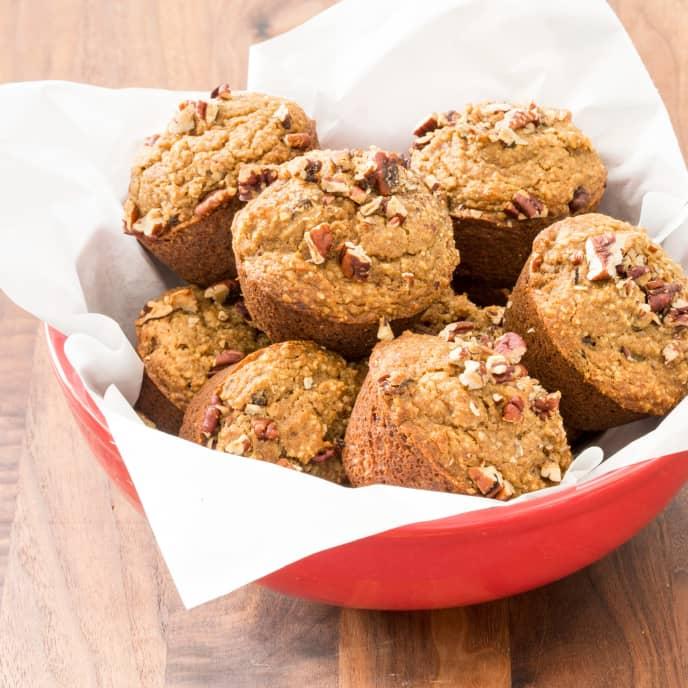Paleo Applesauce-Spice Muffins
