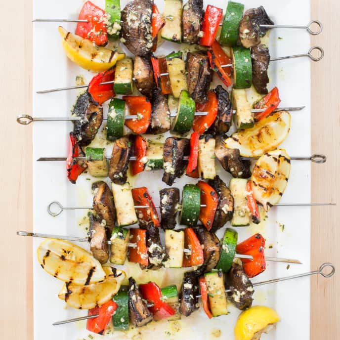 Paleo Grilled Vegetable Kebabs