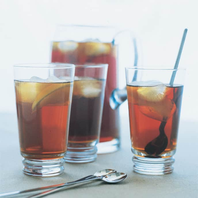 Gingered Iced Tea