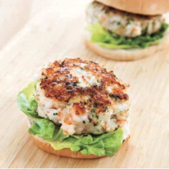 Southern Shrimp Burgers