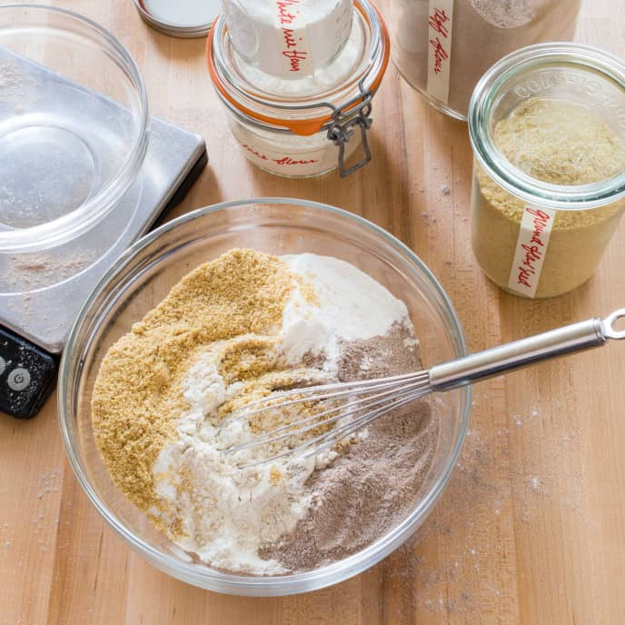 America's Test Kitchen Whole-Grain Gluten-Free Flour Blend