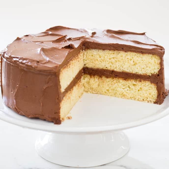 Gluten-Free Yellow Layer Cake