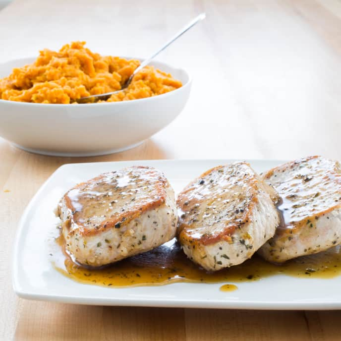 Paleo Orange Chipotle–Glazed Pork Chops