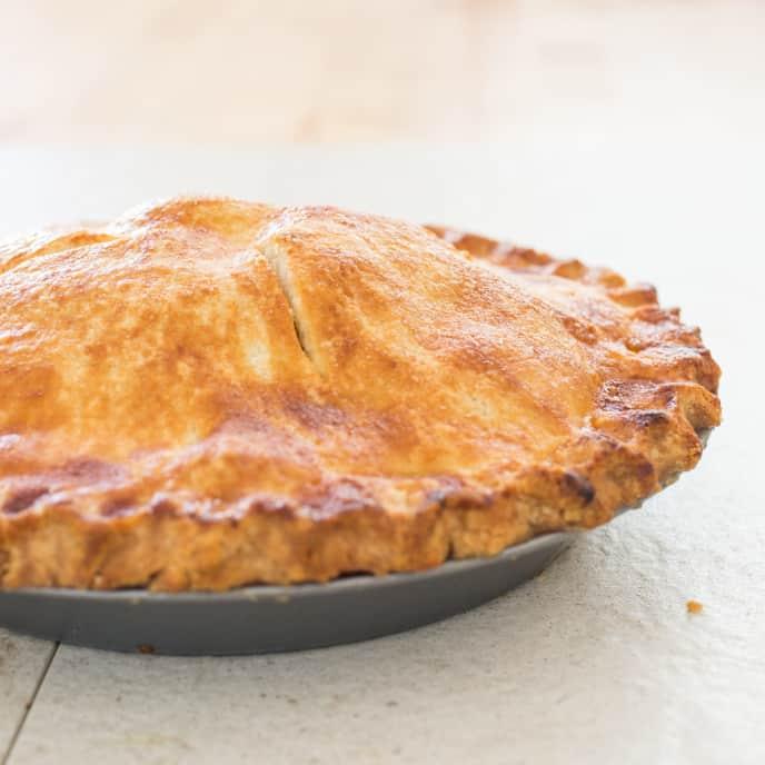 Gluten-Free Double-Crust Pie Dough