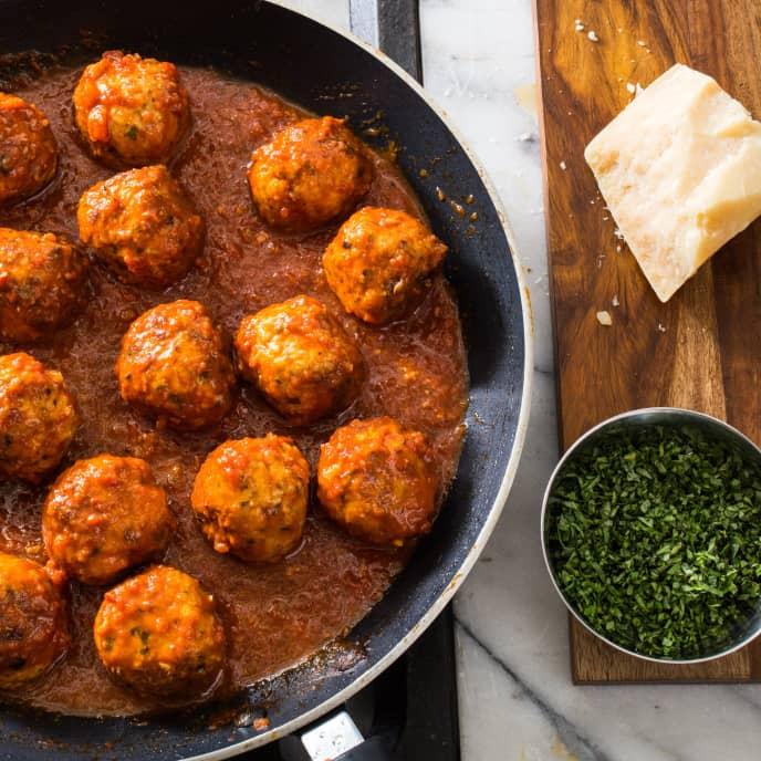 Italian-Style Turkey Meatballs