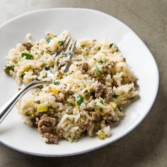 Rice and Sausage Casserole