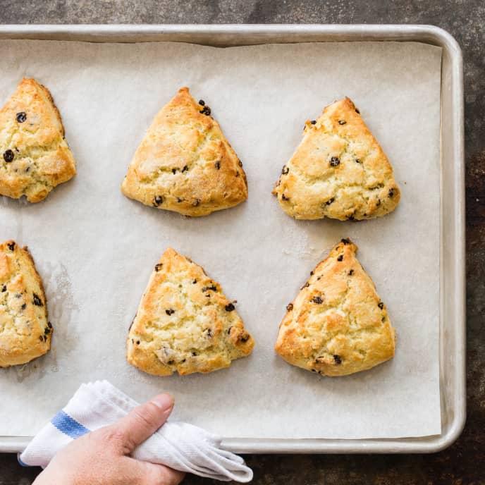 Gluten-Free Currant Scones